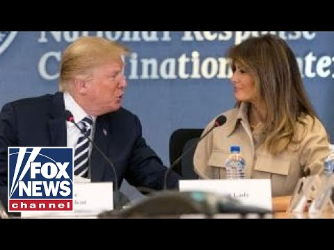 Trump slams 'vicious' media coverage of Melania