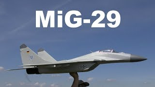 MiG-29, scale RC aircraft, 2018