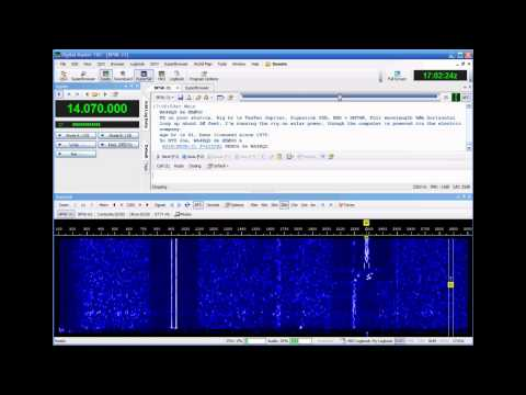 Sample PSK-31 QSO
