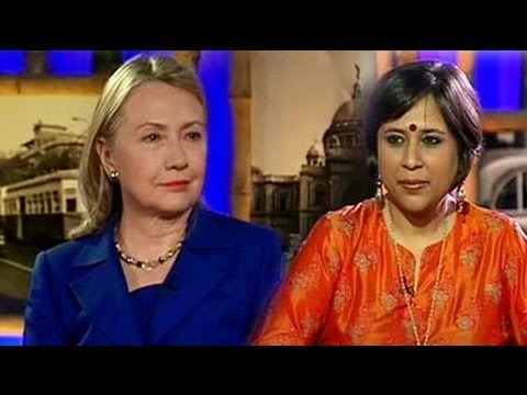 NDTV exclusive: Hillary Clinton on FDI, Mamata, Hafiz Saeed and outsourcing