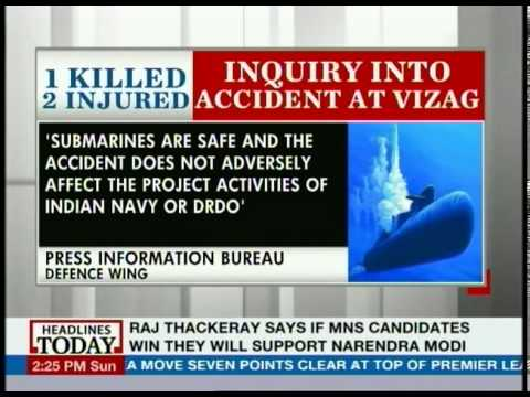 Inquiry into submarine accident ordered