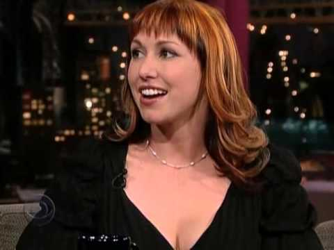 Kari Byron Late Show With David Letterman 16-01-06
