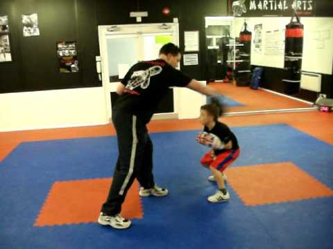 Kids Boxing training at Senshi Martial arts, kidlington. Image 1