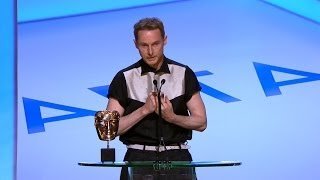 Sean Harris wins Leading Actor Bafta - The British Academy Television Awards 2014 - BBC One