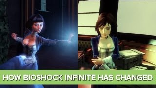 How Bioshock Infinite Has Changed Since 2010 - Gameplay Comparison - 2011, 2012, 2013