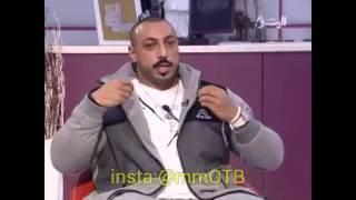 بطل كمال الاجسام خالد الكاظمي