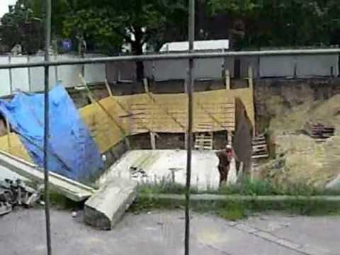 """2012-05-13-Szczecin-Budowa Fontanny W Basenie P-poż -""""patent Szczeciński"""