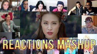 Hoàng Thùy Linh - Bánh Trôi Nước (Woman) Reactions Mashup