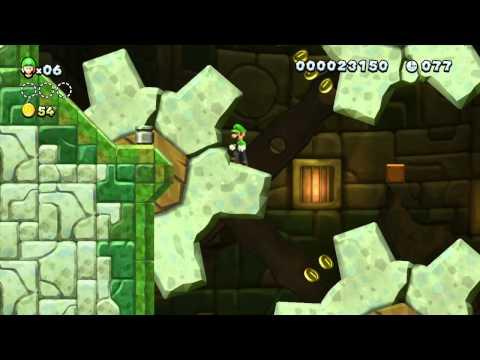 New Super Luigi U | WiiU HD Gameplay