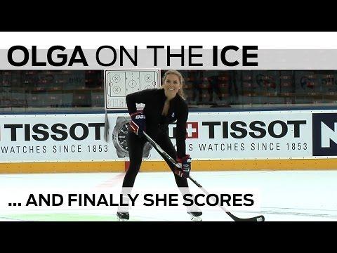 Watch Olga Beat The Latvia Goalie | #IIHFWorlds 2015