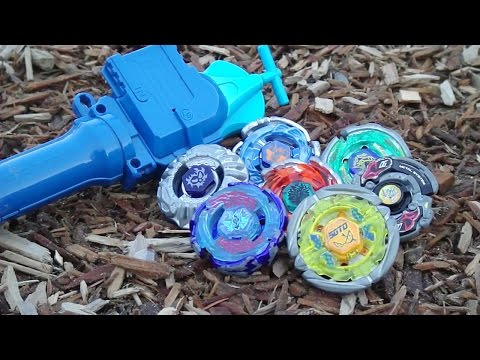~outdoor Beyblade Battle Series #2: Wood! (viewer Requested) video