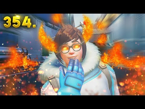 WHY MEI IS EVIL.. | Overwatch Daily Moments Ep. 354 (Funny and Random Moments)
