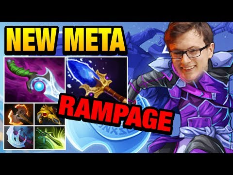 New meta for Antimage - Diffusual Blade & Aghanim's Scepter - Miracle Dota 2