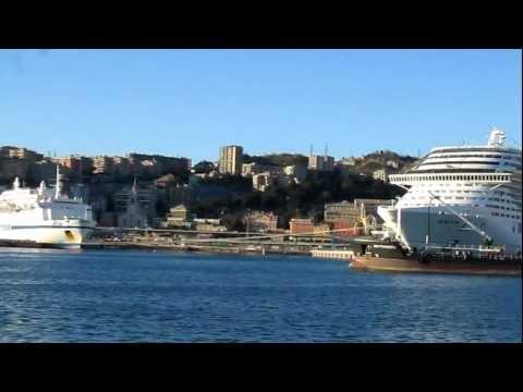 Genoa's port, Genoa, Italy