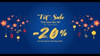 [JYSK Việt Nam] Tết Sale - Giảm 20% đơn hàng từ 5 triệu đồng trở lên