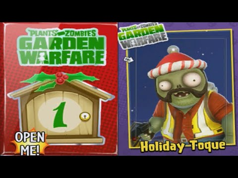 Plants vs Zombies Garden Warfare - Holiday Toque Costume Unlocked