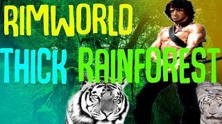 Thick Rainforest! Tropicckap! Rimworld Mod Showcase