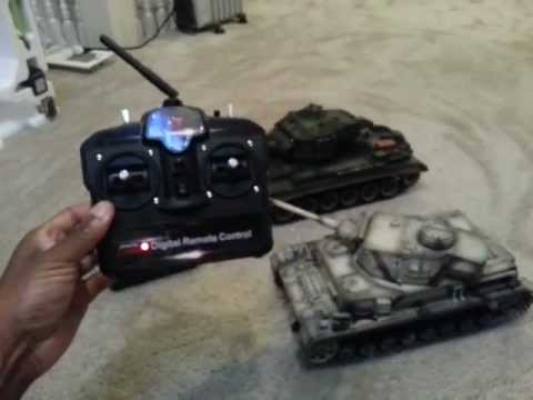Taigen Heng Long  2 4ghz rc pro tanks
