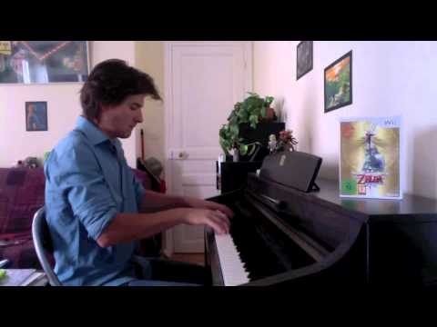 Zelda : Skyward Sword - Skyloft - Piano