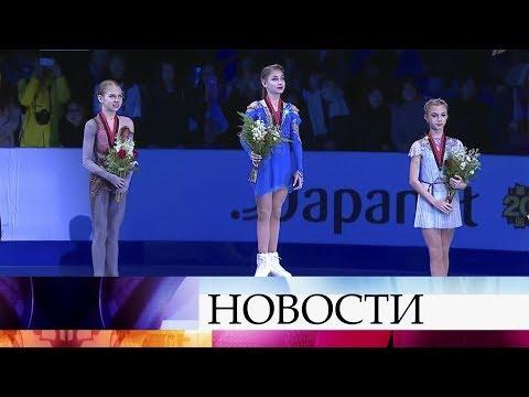 Финал Гран-при по фигурному катанию в Ванкувере стал счастливым для российских юниоров.