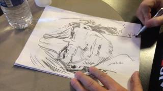 """Comment j'ai dessiné """"Thorgal"""", la leçon de dessin par Grzegorz Rozinski"""