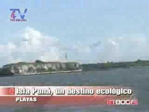 Isla Puná un destino ecológico