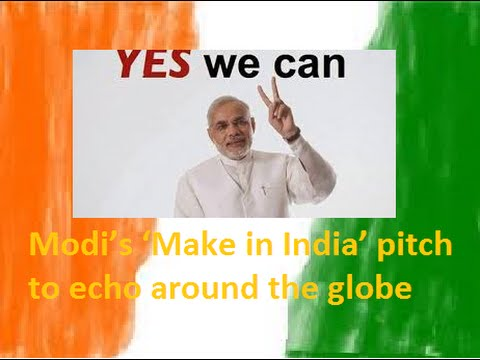 "Prime Minister Shri Narendra Modi will launch ""Make in India"" initiative"