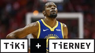 Kevin Durant's Injury Cheated The Fans Of An Epic Series | Tiki + Tierney