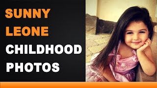 Sunny Leone Childhood Photos