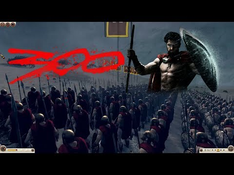 Rome: Total War 2 Massive Battles - Leonidas and The 300 Spartans [Ultra/1080p]