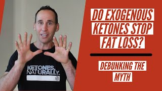 Will Taking Exogenous Ketones Stop Fat Loss? | Ketosis | Dustin Schaffer - The Keto Pro