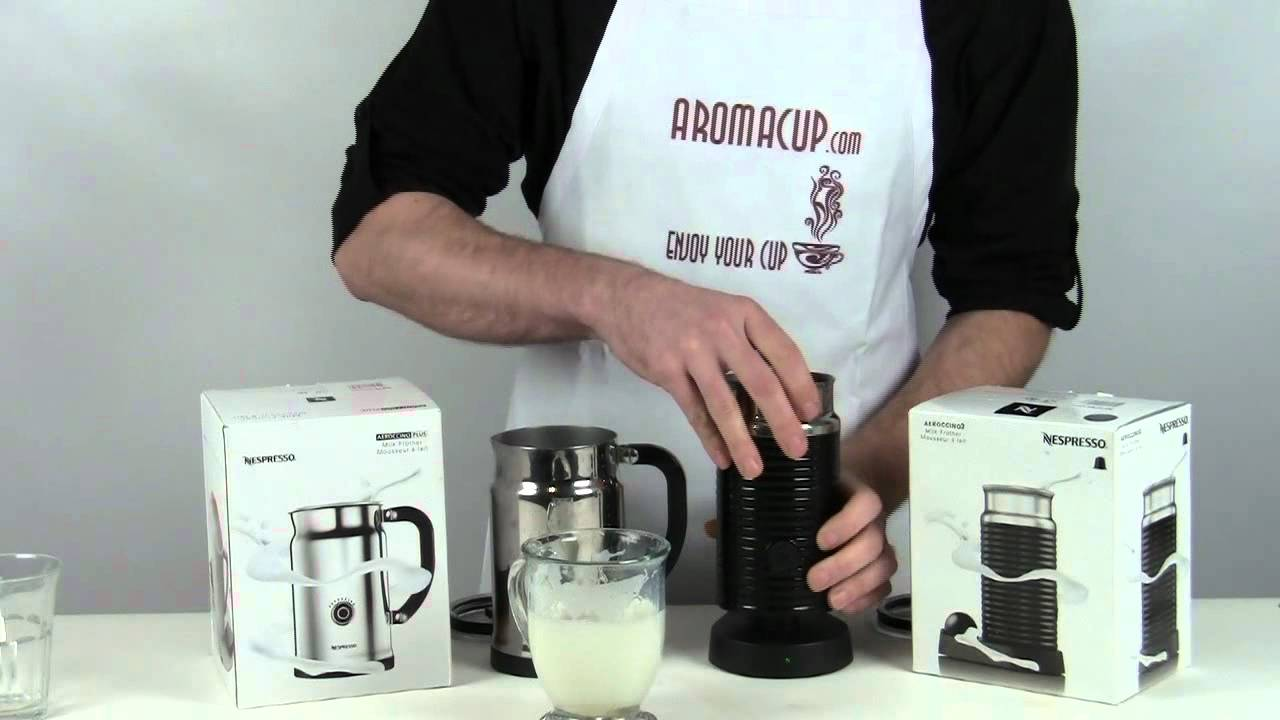 Nespresso Aeroccino Plus Vs Aeroccino 3 Milk Frother Youtube