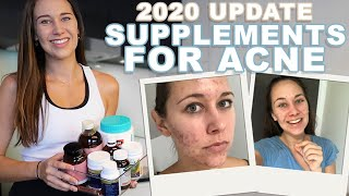 UPDATED Supplements for Acne 2020 + Seeing a Naturopath for Acne!! (HORMONAL ACNE SUPPLEMENTS)