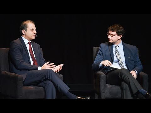 U.S. Attorney Preet Bharara on prosecuting the world's biggest crimes