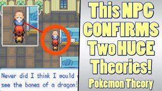 Pokemon Theory: An NPC Confirms Massive Fossil Pokemon Theories