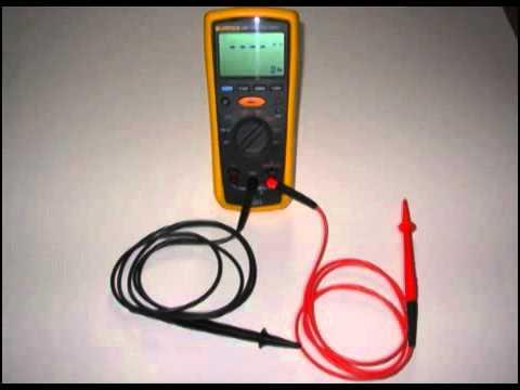 fluke 1503 insulation tester manual