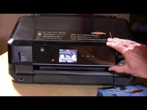 Epson Expression Premium XP-610 Wireless Color Photo Printer Review - C11CD31201