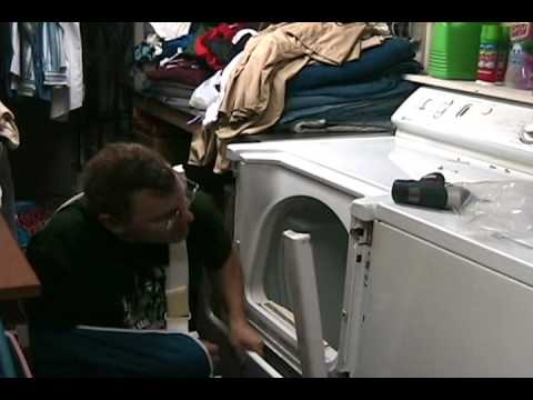 Maytag Dryer repair how to change baffles part 1.wmv