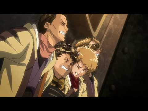 Kabaneri of the Iron Fortress - Train Scene [HD]