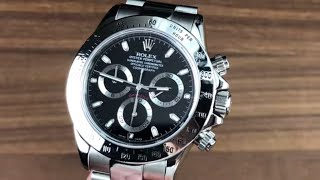 Rolex Daytona Black Dial (Discontinued) 116520 Rolex Watch Review