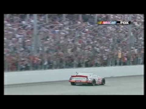 2001 Atlanta Jeff Gordon Kevin Harvick Great finish