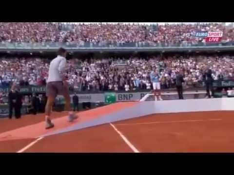 Rafa Nadal Trophy Ceremony Roland Rarros 2014 | Final vs Novak Djokovic French Open