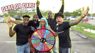 EXTREME Spin The Wheel In PUBLIC MALL! **Dare Or Dare**