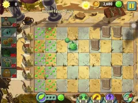 Game   Hướng dẫn chơi Plants vs Zombies 2 Ai Cập cổ đại ngày 4 sao thứ nhất HD   Huong dan choi Plants vs Zombies 2 Ai Cap co dai ngay 4 sao thu nhat HD