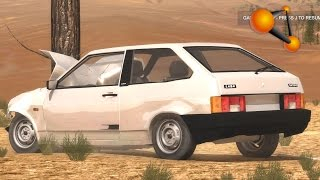 BeamNG.Drive Mod : VAZ-2108 USSR (Crash test)