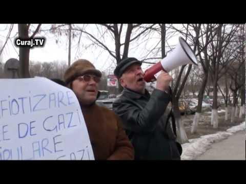 Ptotest la Moldova Gaz