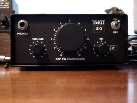 HAM QRP 20m TRANSCEIVER KIT