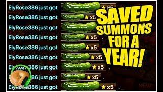SUMMONERS WAR : A Year Of Saving Summons...