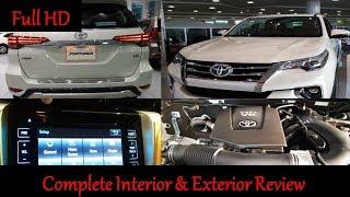 Toyota Fortuner 2019 - Full Option V6 VX.R - Full Interior & Exterior Review In Dubai UAE