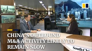 China's outbound M&A activity likely to remain slow